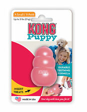 KONG PUPPY KONG Durable Rubber Chew and Treat Toy For Dogs X-SMALL (KP4)