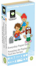 CRICUT *EVERYDAY PAPER DOLLS* CARTRIDGE KID'S COSTUMES, DOLL & WORK CLOTHES *NEW