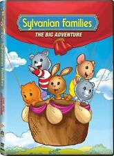 SYLVANIAN FAMILIES - THE BIG ADVENTURE (BRAND NEW DVD!)7 EPISODES