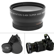 Universal METAL 0.45x 55 mm Wide Angle+Macro Conversion Lens for DSLR SLR Camera