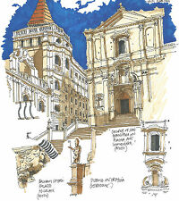 NOTO Architecture Classics Contemporary Ink Print (Artist signed & numbered)