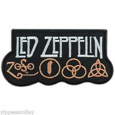 Led zeppelin Rock Band Sew Embroidered Iron on Patch T Shirt Vest Jacket #M0052