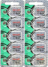 Maxell 364 SR621SW SR621 28034 LR621 AG1 Battery 0% MERCURY ( 10 pc )
