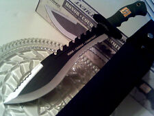 Marine Recon USMC Honor Courage Commitment Combat Bowie Kukri Hunter Knife 17""
