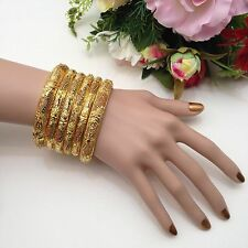 Indian Asian Bridal Jewellery Party Ethnic Wear 22ct Gold Plated Bangles (2.8)