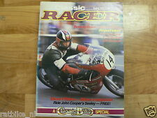 CLASSIC RACER 1985 SPRING ISSUE 9,SEELEY,NORTON,PORCUPINE,DUNPHY