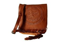 Patricia Nash Granada Crossbody Tan Leather Handbag Purse - NWT