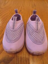 Kola Kids Toddler Girls Purple Swim Water Shoes Size 5 EUC