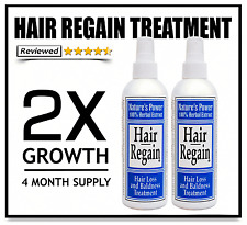2X HAIR GROWTH TREATMENT - no finasteride side effects
