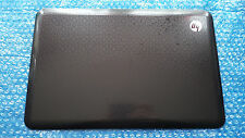 HP PAVILION DV6-3000 / 3067SA TOP SCREEN/LCD LID COVER PLASTICS DARK BROWN