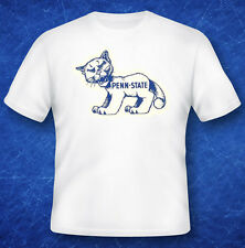 Vintage Decal  T-Shirt Tee Shirt   University of   PENN STATE   Lions   College