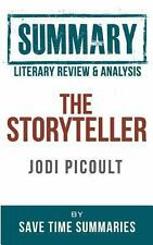 Book Literary Review & Summary: The Storyteller Summaries, Save Time Paperback