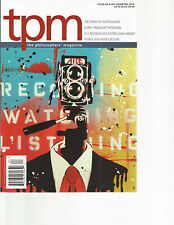 TPM THE PHILOSOPHERS MAGAZINE,   4th QUARTER, 2013  ISSUE, 63 ( PEOPLE WHO HEAR