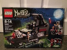 Lego 9464 Monster Fighters The Vampyre Hearse Complete Damaged Box Free Shipping