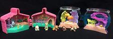 Vintage Littlest Pet Shop Mini Surprise Pets Lot Dogs Fish Cat Bunny Kenner 1995