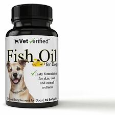 Vet Verified Fish Oil for All Dogs - OMEGA 3 / EPA - DHA (Health, Skin, Coat...)