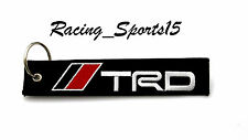 JDM TRD DOUBLE SIDE Racing Cell Holders Keychain Universal TOYOTA CAMRY COROLLA