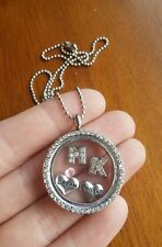 Mary Kay consultant gift team building floating living memory locket necklace