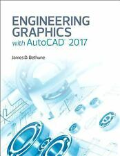 Engineering Graphics With Autocad 2017 by James D. Bethune Hardcover Book (Engli