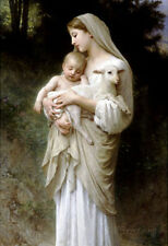 William-Adolphe Bouguereau Linnocence Art Print Poster Poster Print, 13x19