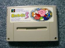 Super Famicom Hoshi no Kirby 3 Japan SFC F/S