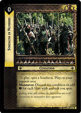 Lord of the Rings CCG Helm's Deep 5U77 Strength in Numbers X2 TCG LOTR