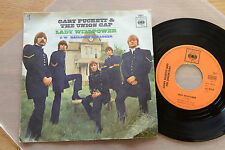 GARY PUCKETT & The Union Gap Lady Willpower 7inch single CBS 3551 RARE Garage
