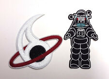 Forbidden Planet Robby the Robot & Uniform Patch Set of 2- FREE S&H (FBPA-01/2)
