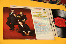THE FOUR LADS LP SING FRANK LOESSER ORIG USA COLUMBIA 6 EYES EX TOP RARE !!!!!!!