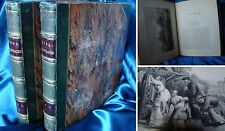 Libro antico '800 CHINA ILLUSTRATED 1843 Storia Cina antico impero old book view