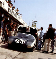 Ford GT40 – first ever race – paddock 1000 km Nurburgring 1964 - photograph
