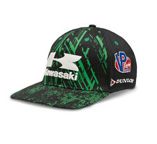 Kawasaki Flat Bill Race Hat - Size Large - Brand New