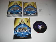 La edad de las maravillas sombra Magic PC CD ROM en caja con manual de gran post rápido