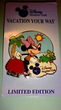 Disney pin Disney Vacation Club - Vacation Your Way 2012 - Minnie Mouse