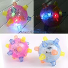 Jumping Joggle Ball Flashing Light Bouncing Vibrating Sound Music Kids Funny Toy