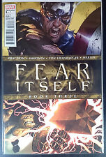Fear Itself #3 NM- 1st Print Free UK P&P Marvel Comics