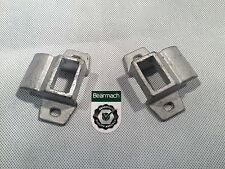 Bearmach Land Rover Series 2 & 3 Door Striker Lock Plate x2 - MTC4195 BR 2110