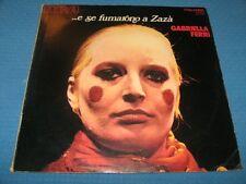 GABRIELLA FERRI - …E SE FUMARONO A ZAZA' PSL10515 LP