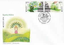 MOLDOVA 2016 EUROPA CEPT.THINK GREEN.FDC.