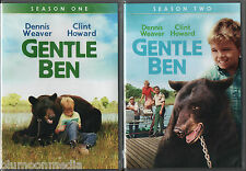 Gentle Ben DVD Complete TV Series Lot Seasons 1 & 2 8 Disc Set First Second NEW