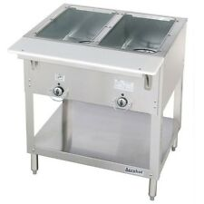 2 Well Gas Steam Table Dry Bath Duke 302 NEW Commercial Steaming #4665
