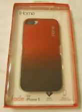 Apple iHome Fade iPhone 5 Case Red Feather Soft Finish