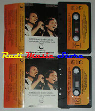 MC SIMON & GARFUNKEL Concert in central park 1/2 1982 italy GEFFEN cd lp dvd vhs