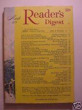 Reader's Digest March 1971 James Michener Jack Dumas ++