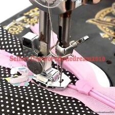 New Metal Invisible Concealed Snap On Zipper Foot Babylock Brother Singer Sewing