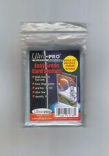(500) Ultra Pro Easy Grade Card Sleeves Angle Cut Extra Safe Notched Corners
