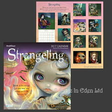 *STRANGELING 2017 CALENDAR* Fantasy Fairy Art By Jasmine Becket-Griffith