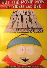 SOUTH PARK FILMPOSTER BIGGER LONGER & UNCUT