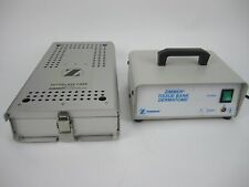Zimmer 8831-06 Dermatome Cadaver with Autoclave Case and Tissue Bank  Powers up.