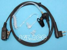 2-Wire Security Surveillance Kit Headset Earpiece Motorola Radio GP-2000 GP-2100